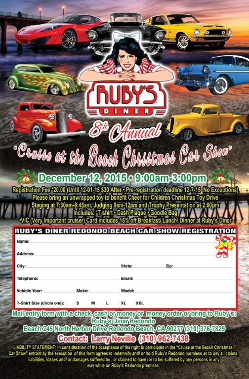 Ruby's Christmas Cruise Flier