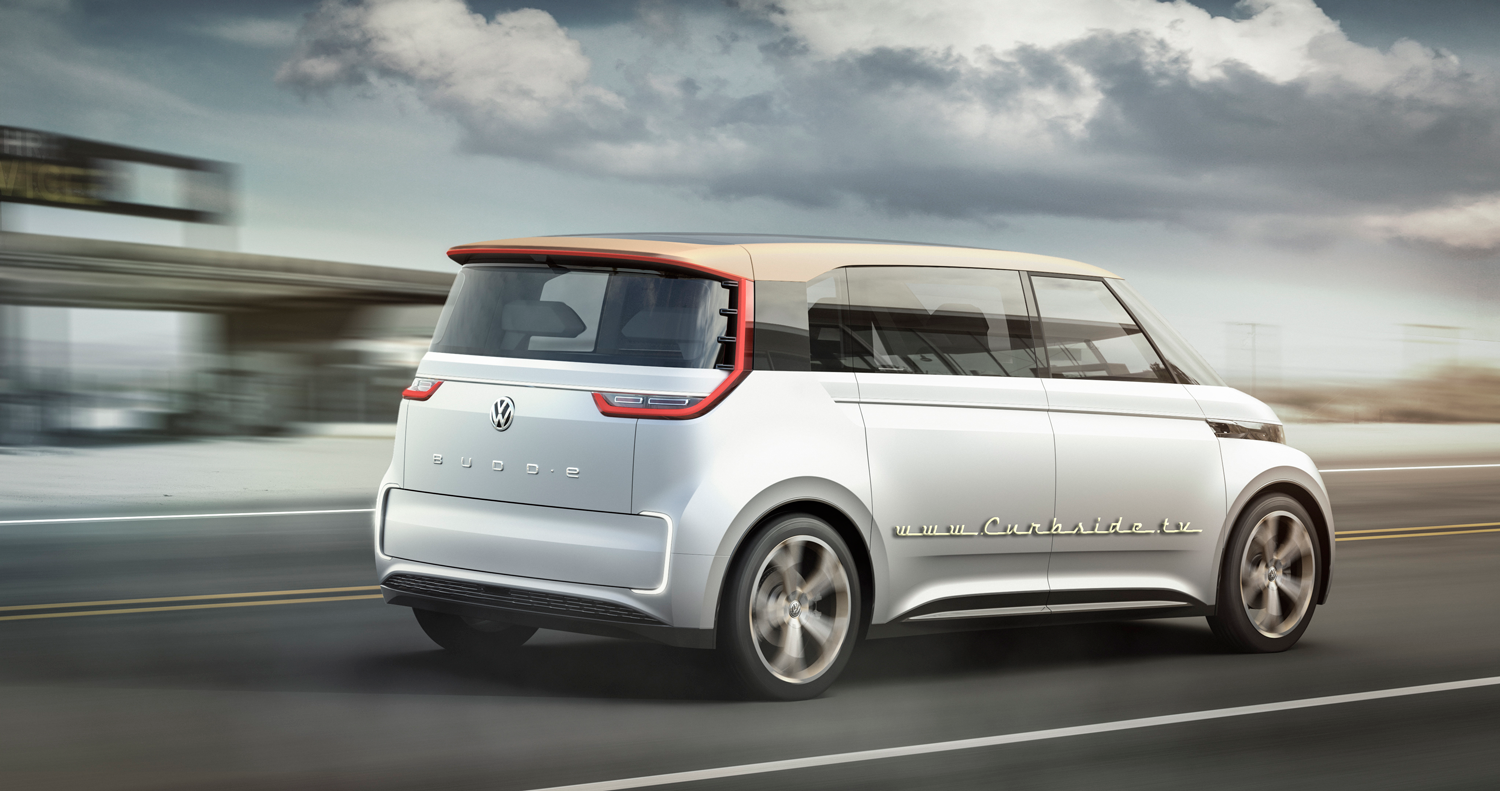 Volkswagens potential microbus vision in the BUDD-e concept