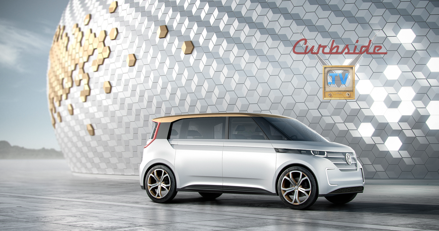 The Volkswagen BUDD-e concept claims up to 376 miles on a single charge.