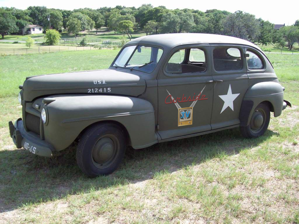 1942 Ford in Military Scheme
