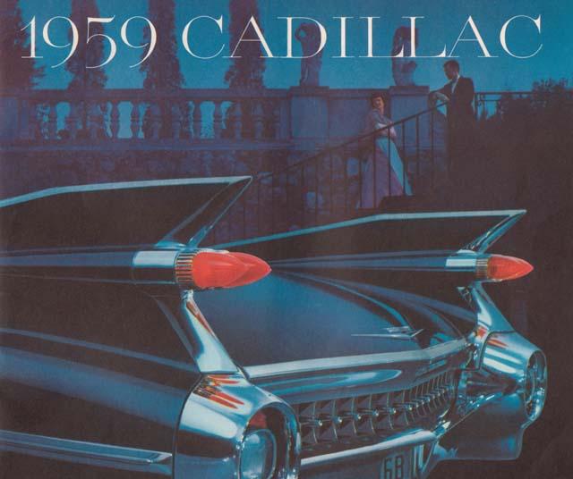 1959 Cadillac Brochure Cover