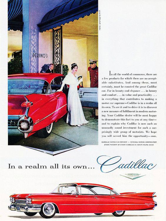 1959 Cadillac Advertisement
