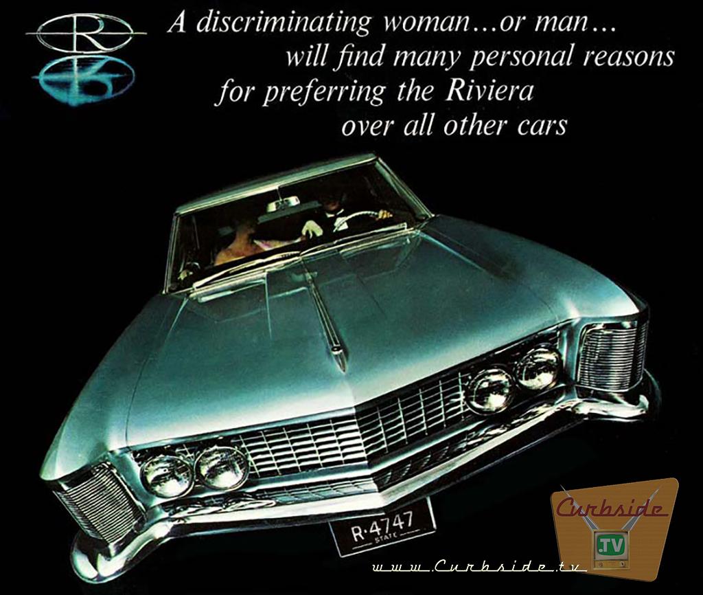 1963 Buick Riviera advertisement