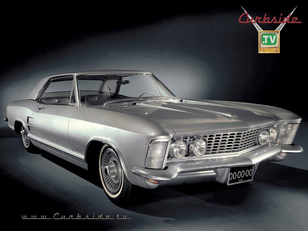 1963 Buick Riviera press shot