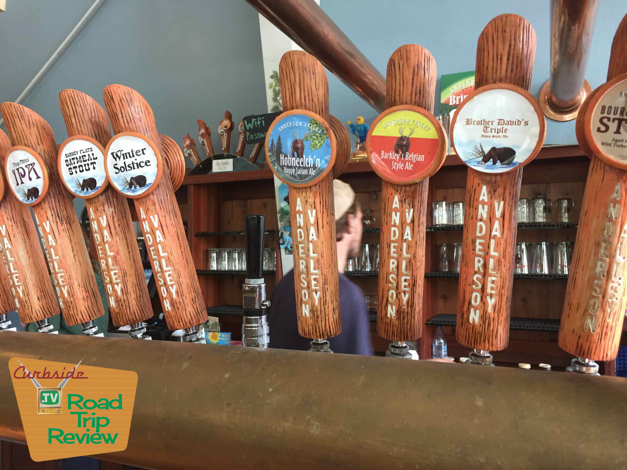 Anderson Valley Brewing tap room