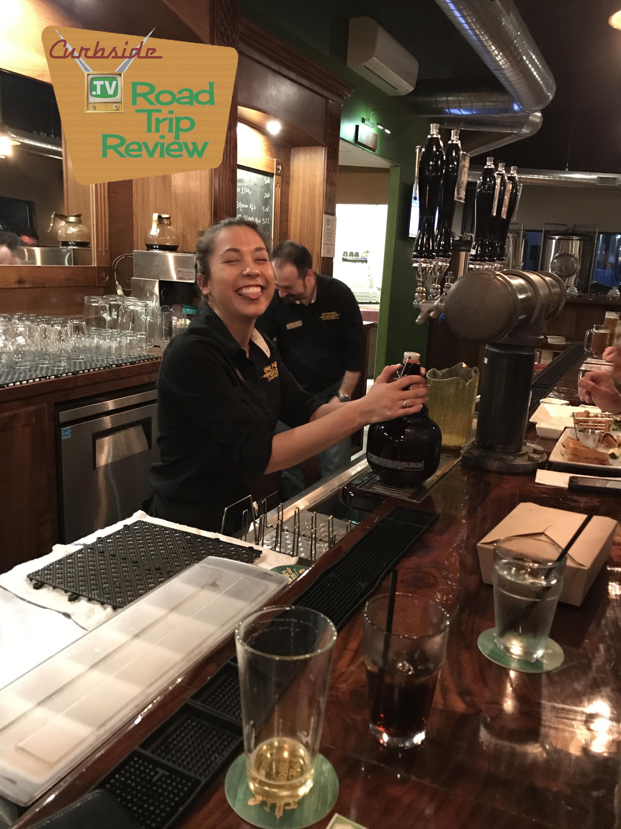Happy beertender