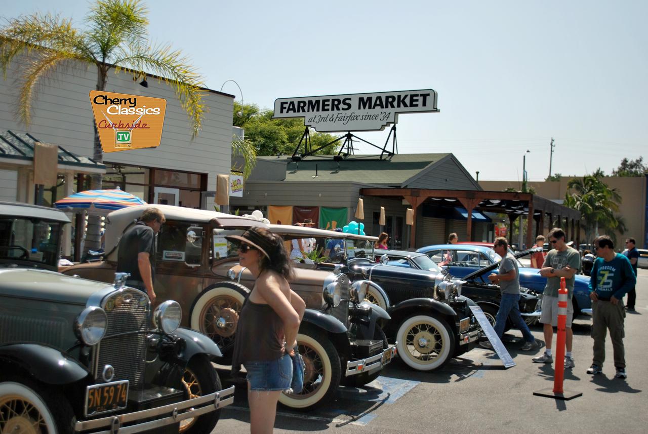 Gilmore Heritage/Farmers Market Car Show