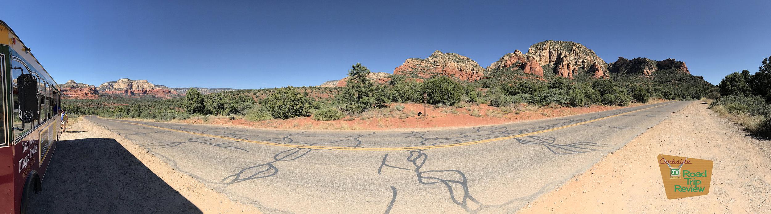 The Red Rock Magic Trolley tour in Sedona, Arizona
