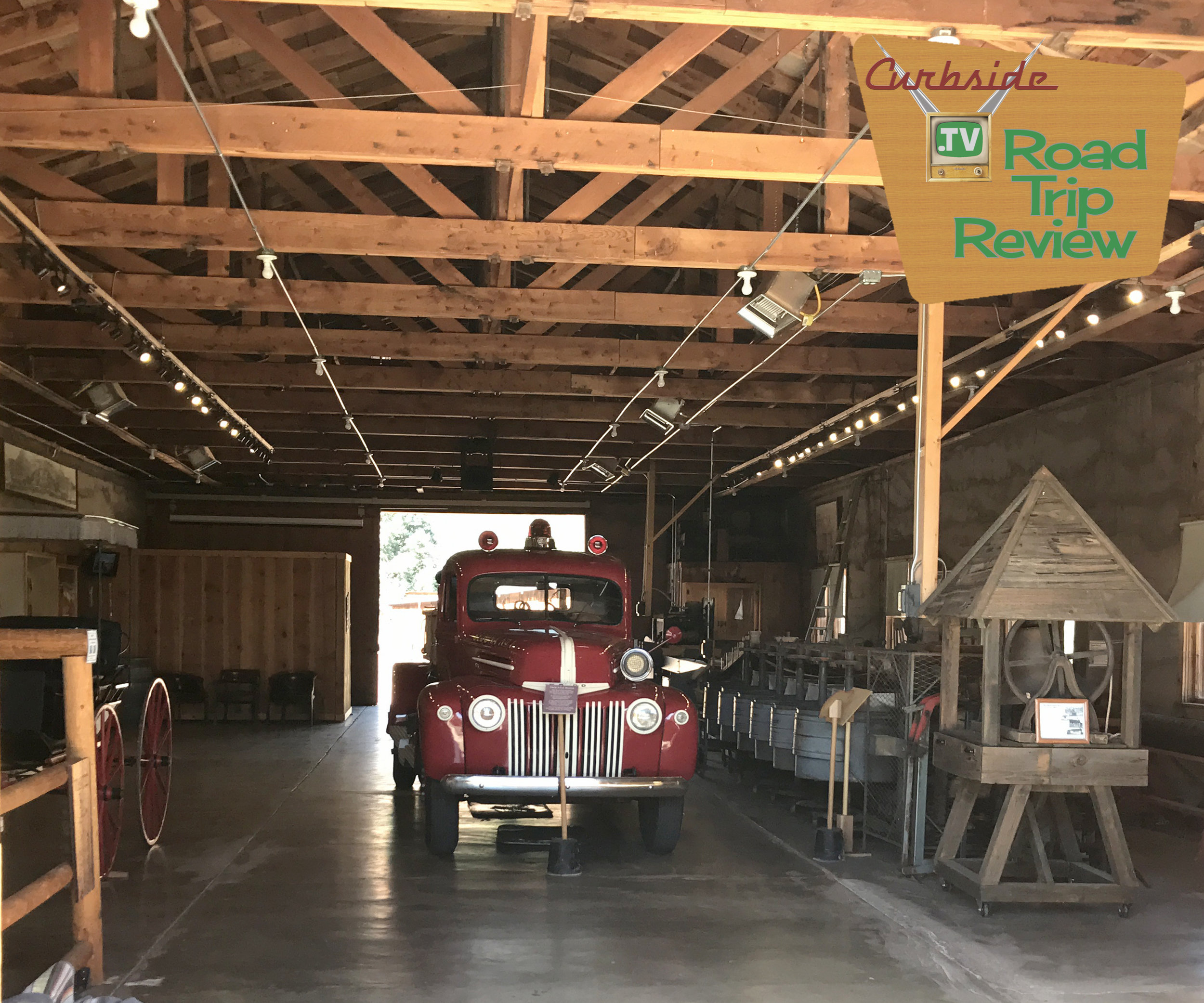 Sedona Heritage Museum and a '41 Ford fire engine along with apple processing equipment. Cool!
