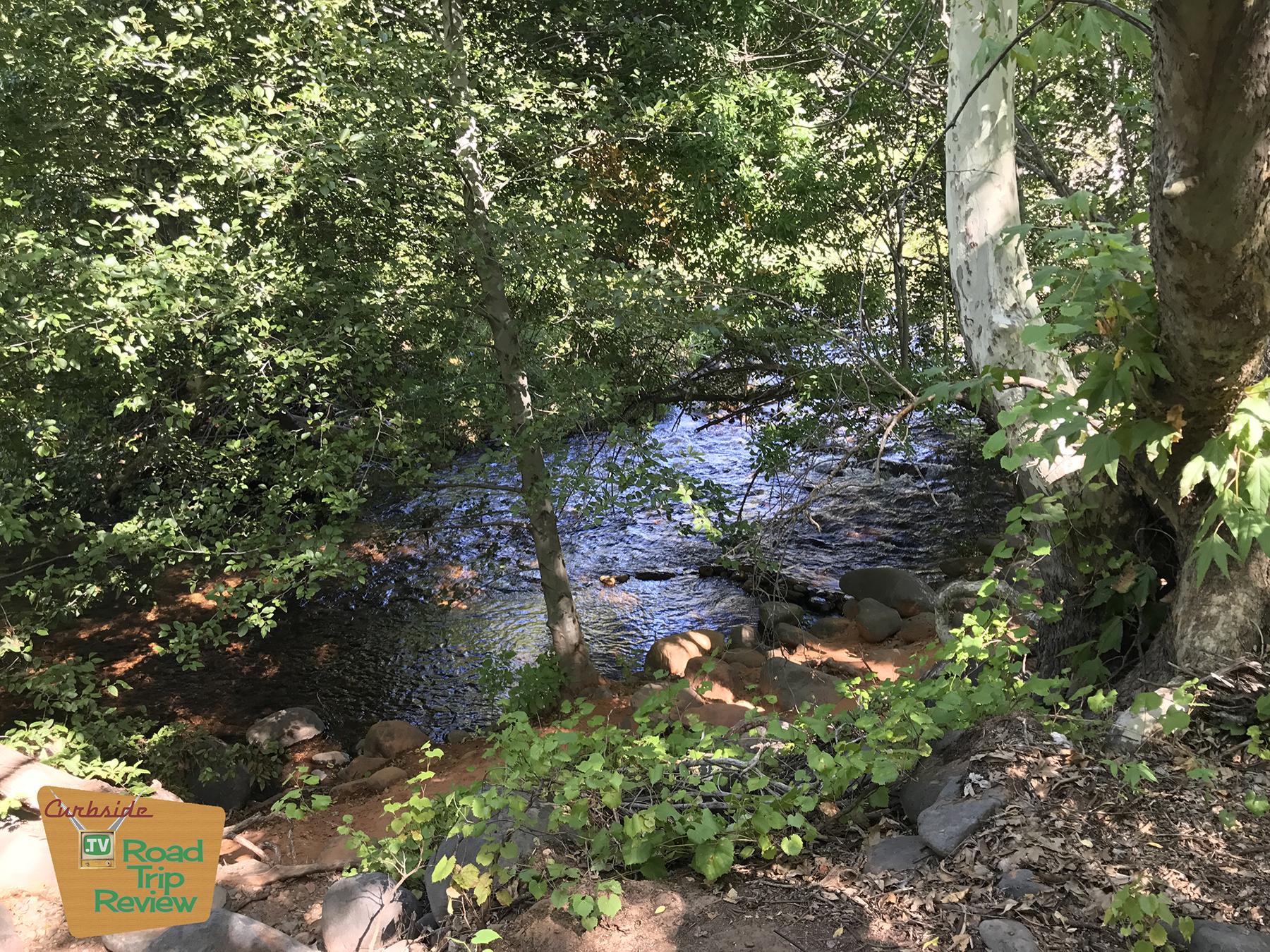 Oak Creek in Sedona Arizona