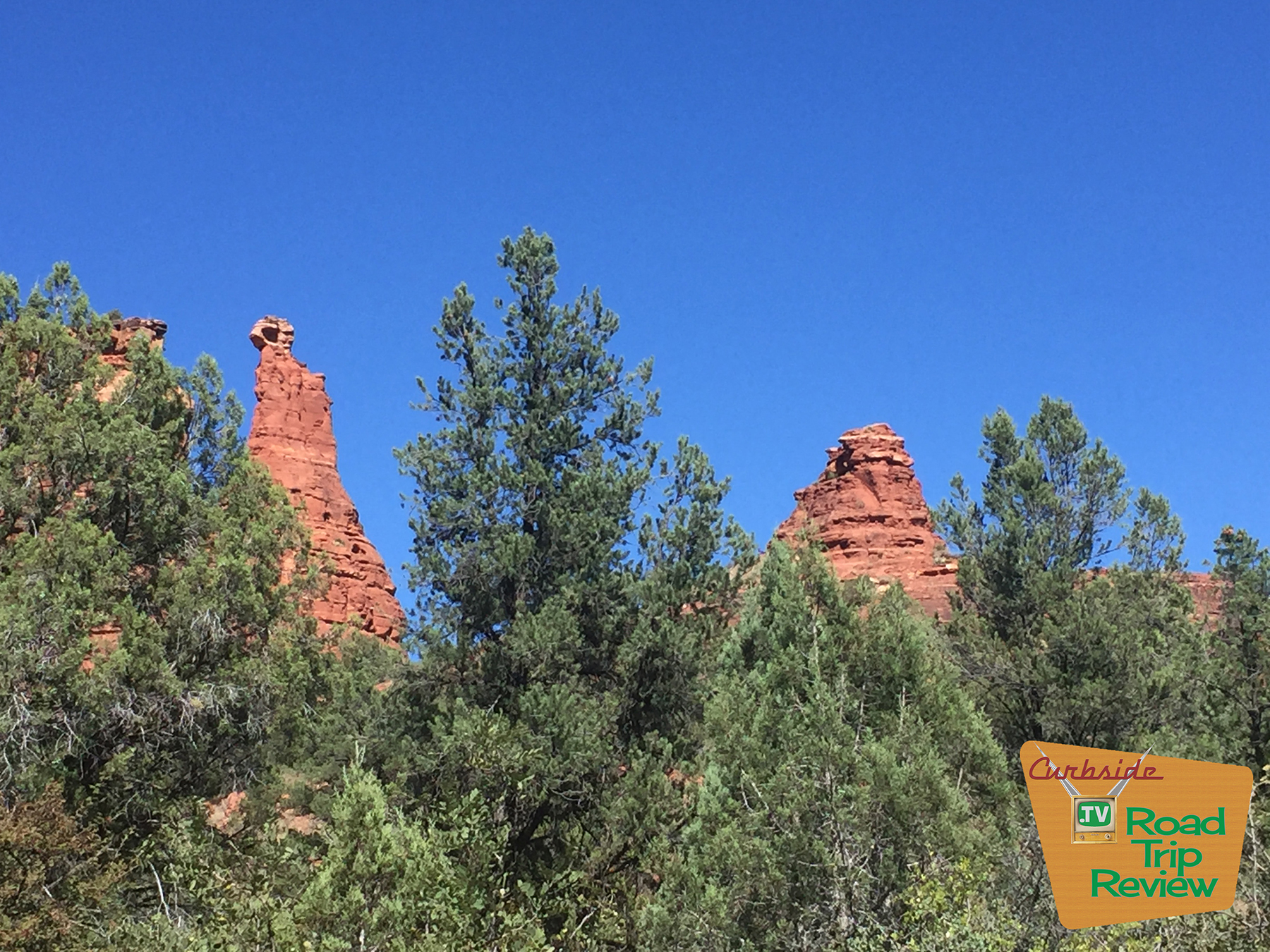 Beautiful rock formations in Sedona, Arizona