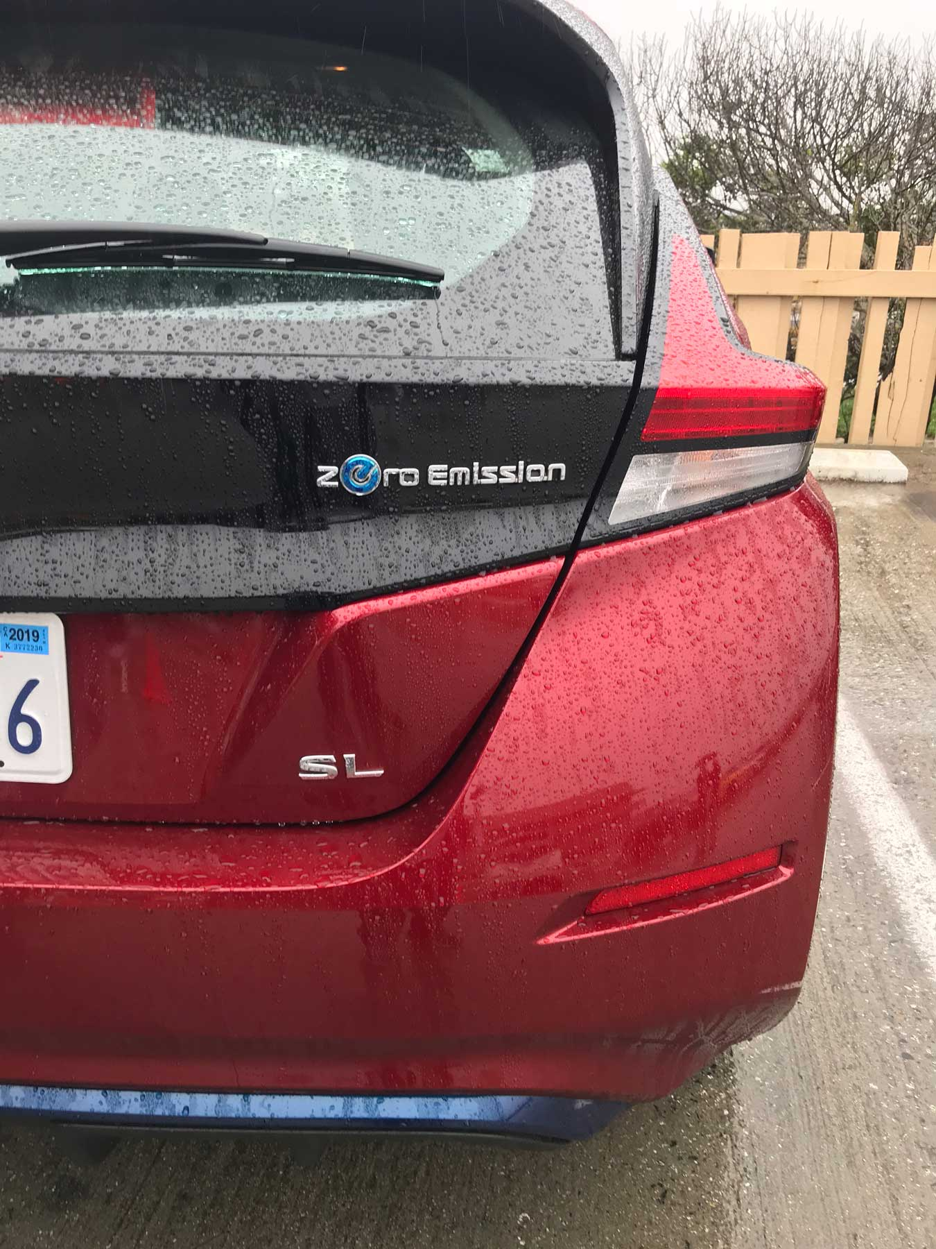 The zero-emission brag of an electric car including the tested Nissan Leaf