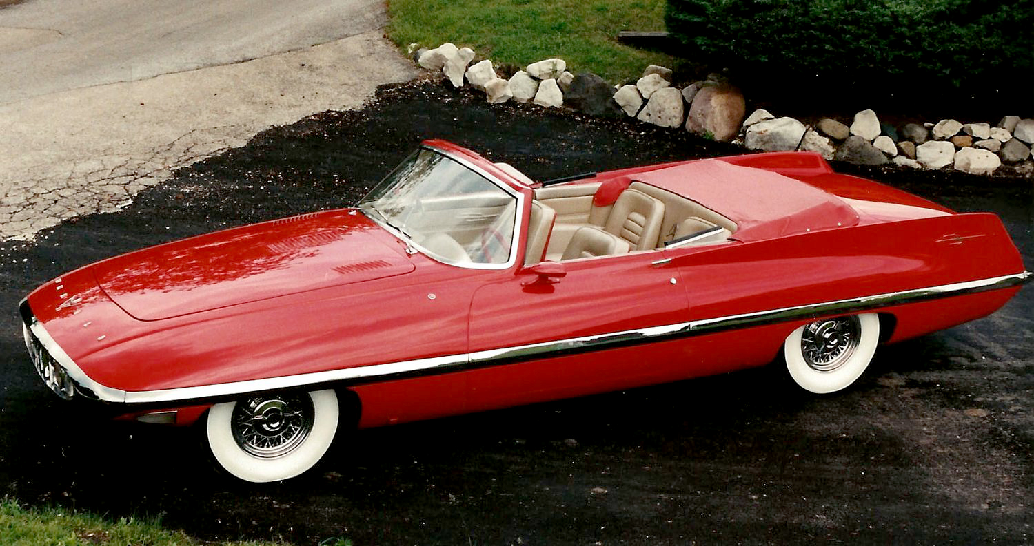 Virgil Exner: master of Chrysler design in the 1950s