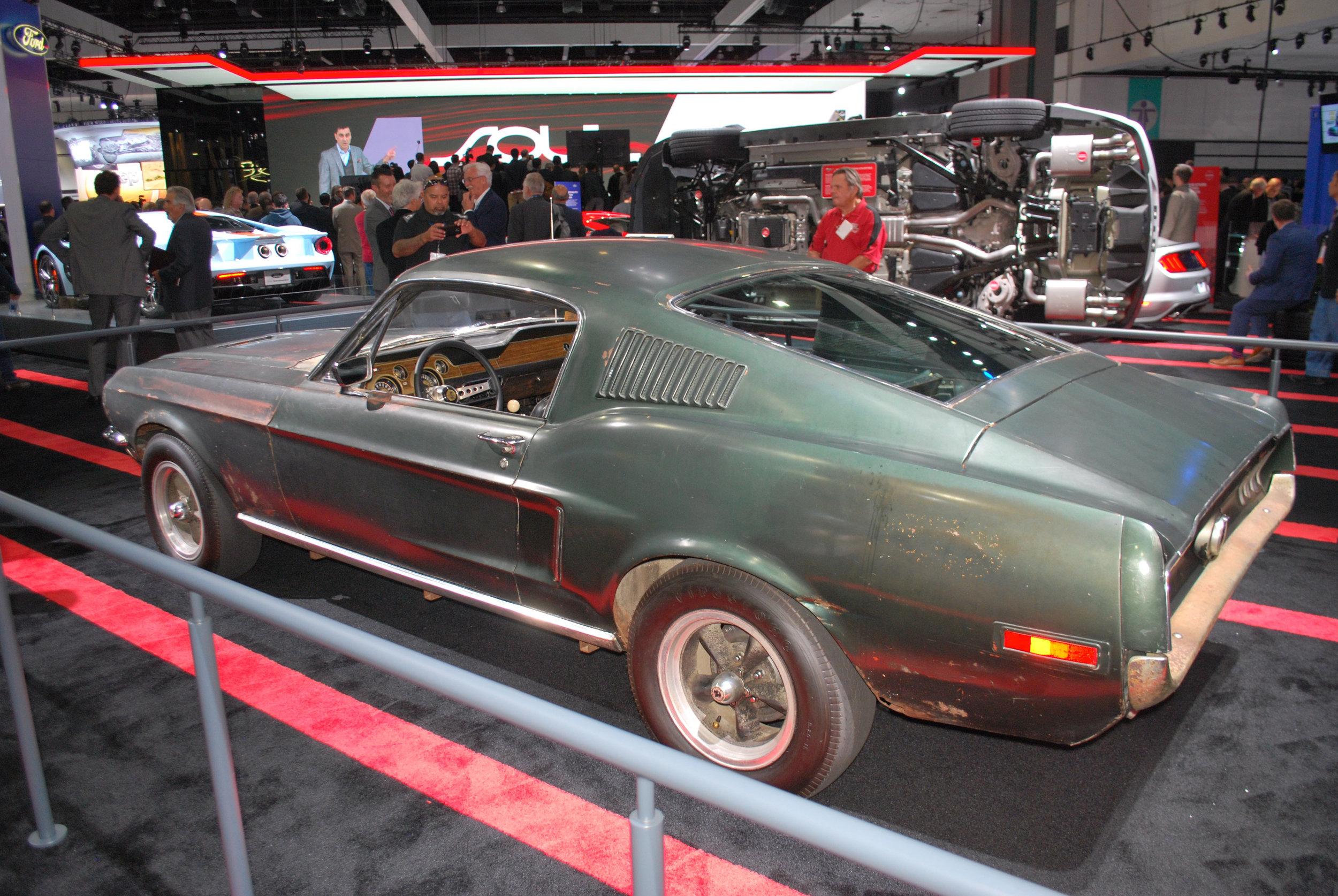Original Bullitt Mustang at the LA Auto SHow