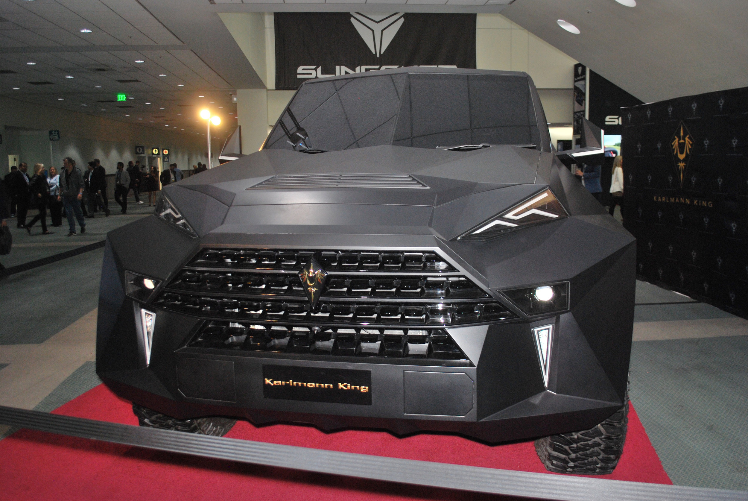 Karlmann King at the 2018 Los Angeles International Auto Show