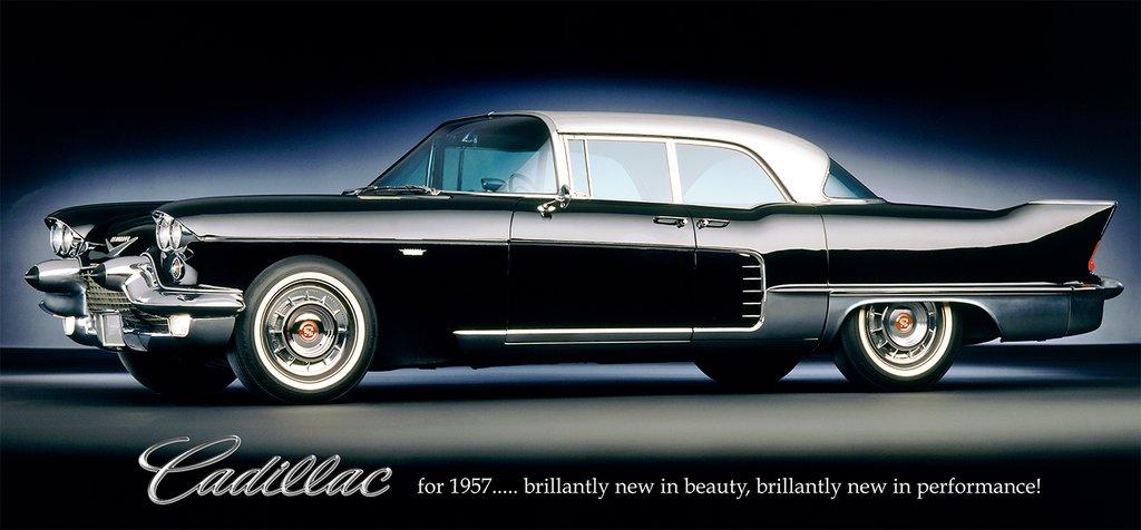 1957 Cadillac Brougham Billboard