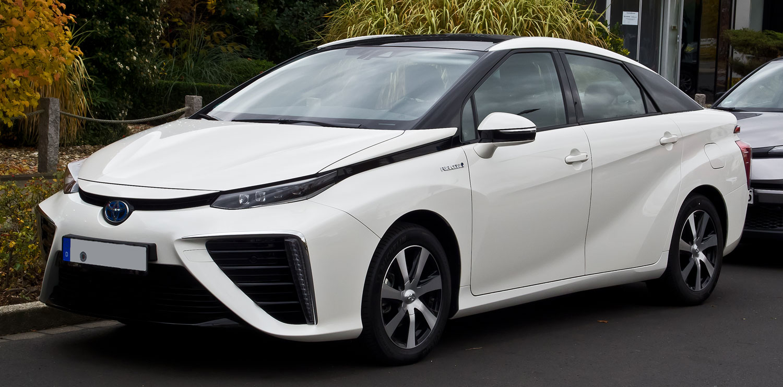Toyota Mirai hydrogen car
