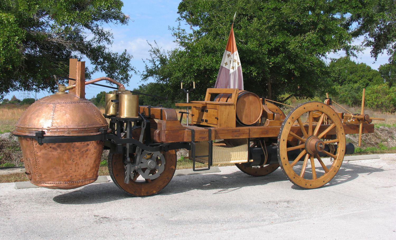 Cugnot Steaam-powered car