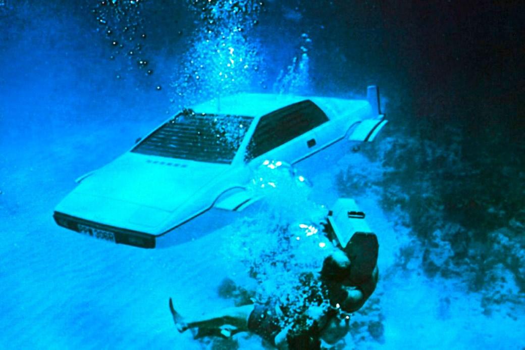 Wet Nelly - Bond's Amphibious Lotus