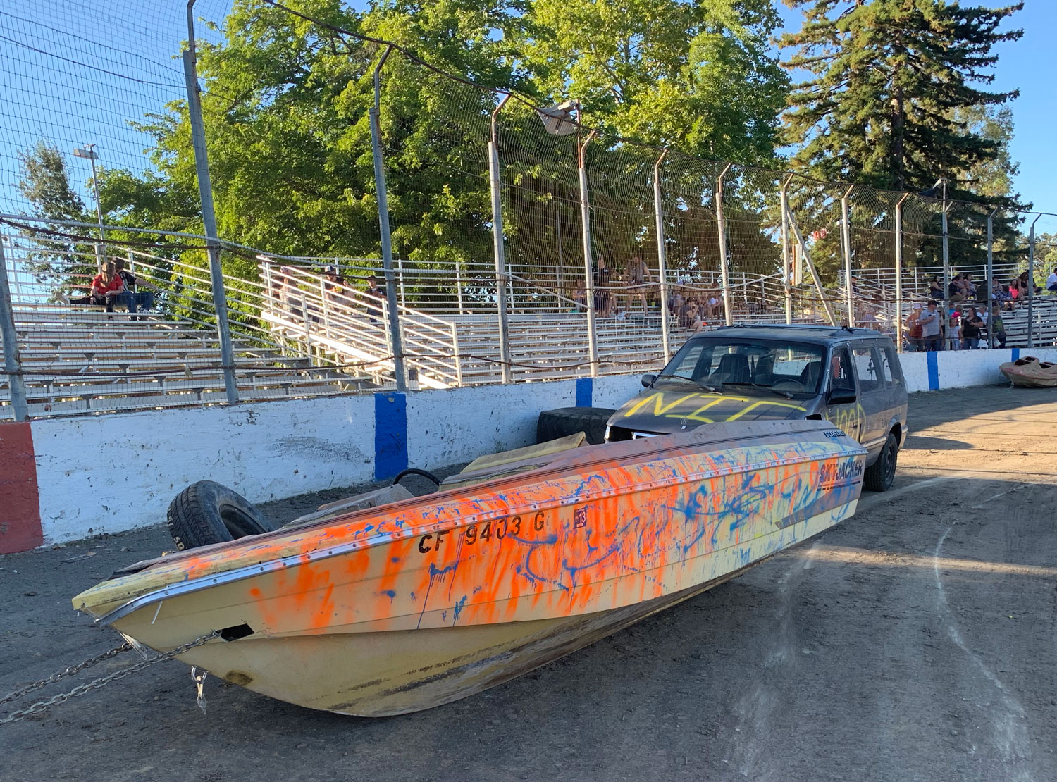 The Curbside boat race machines