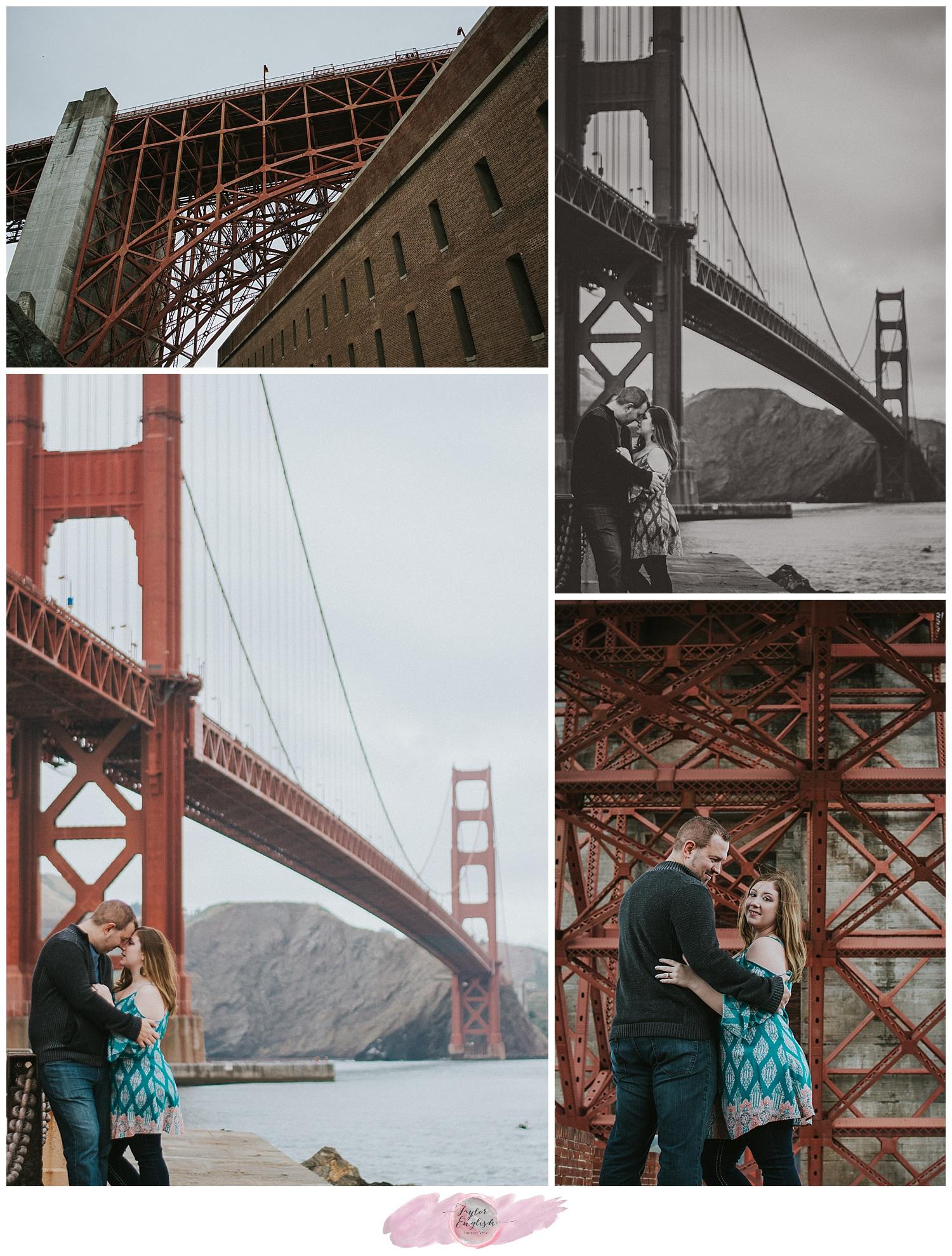 The famous San Francisco fog makes everything seem so romantic.