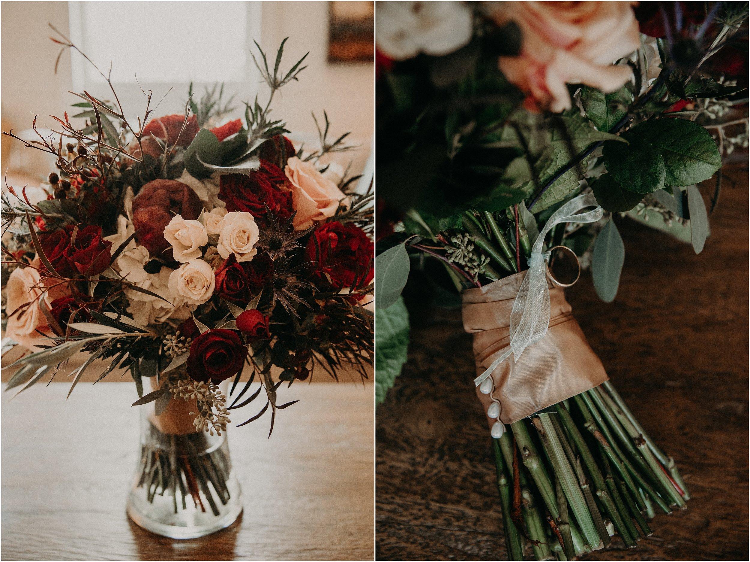 Wedding bouquet by Chickamauga Florist
