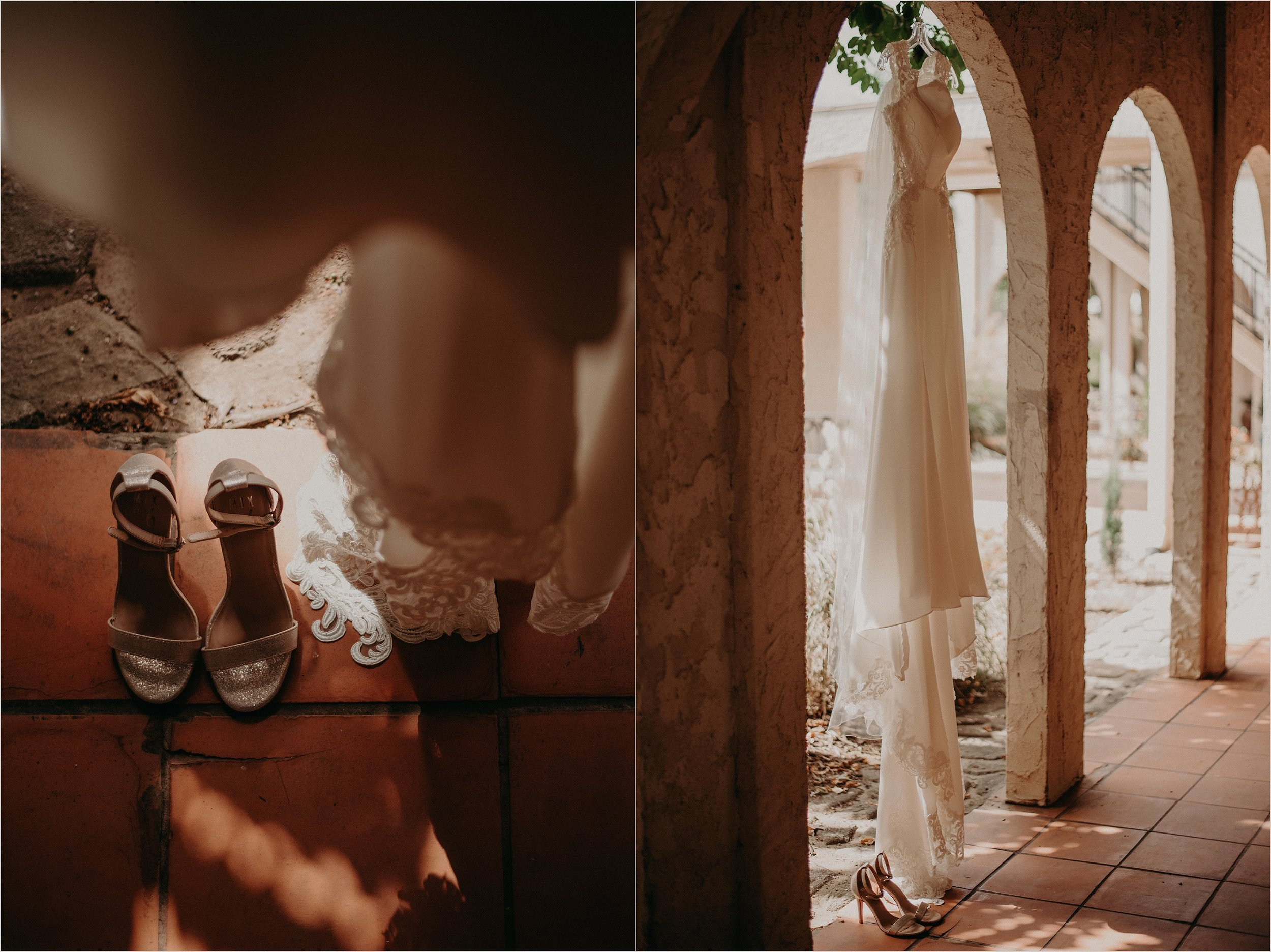 Villa inspired wedding details at Tennessee Riverplace