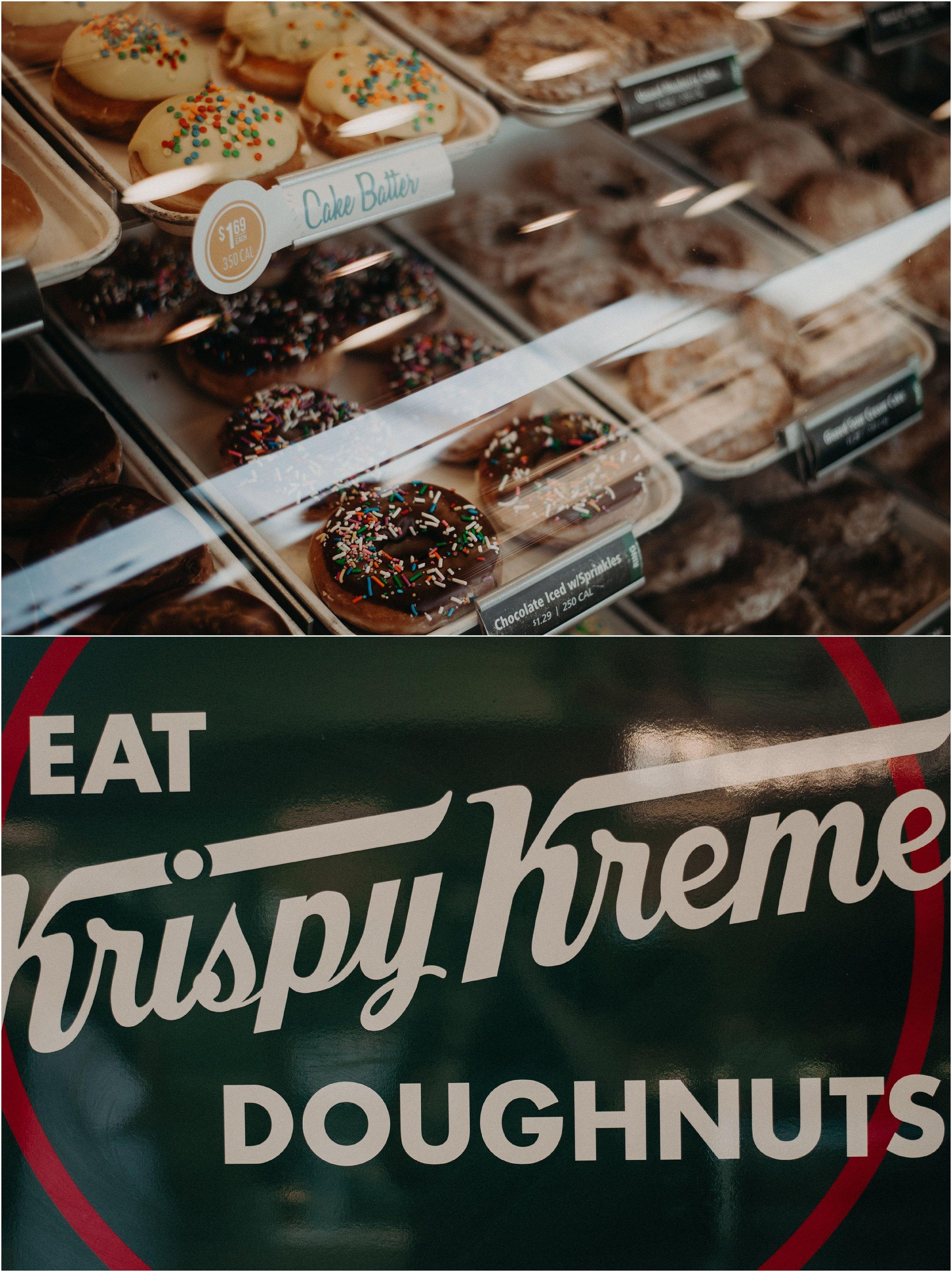 Eat Krispy Kreme Doughnuts in Chattanooga, Tennessee