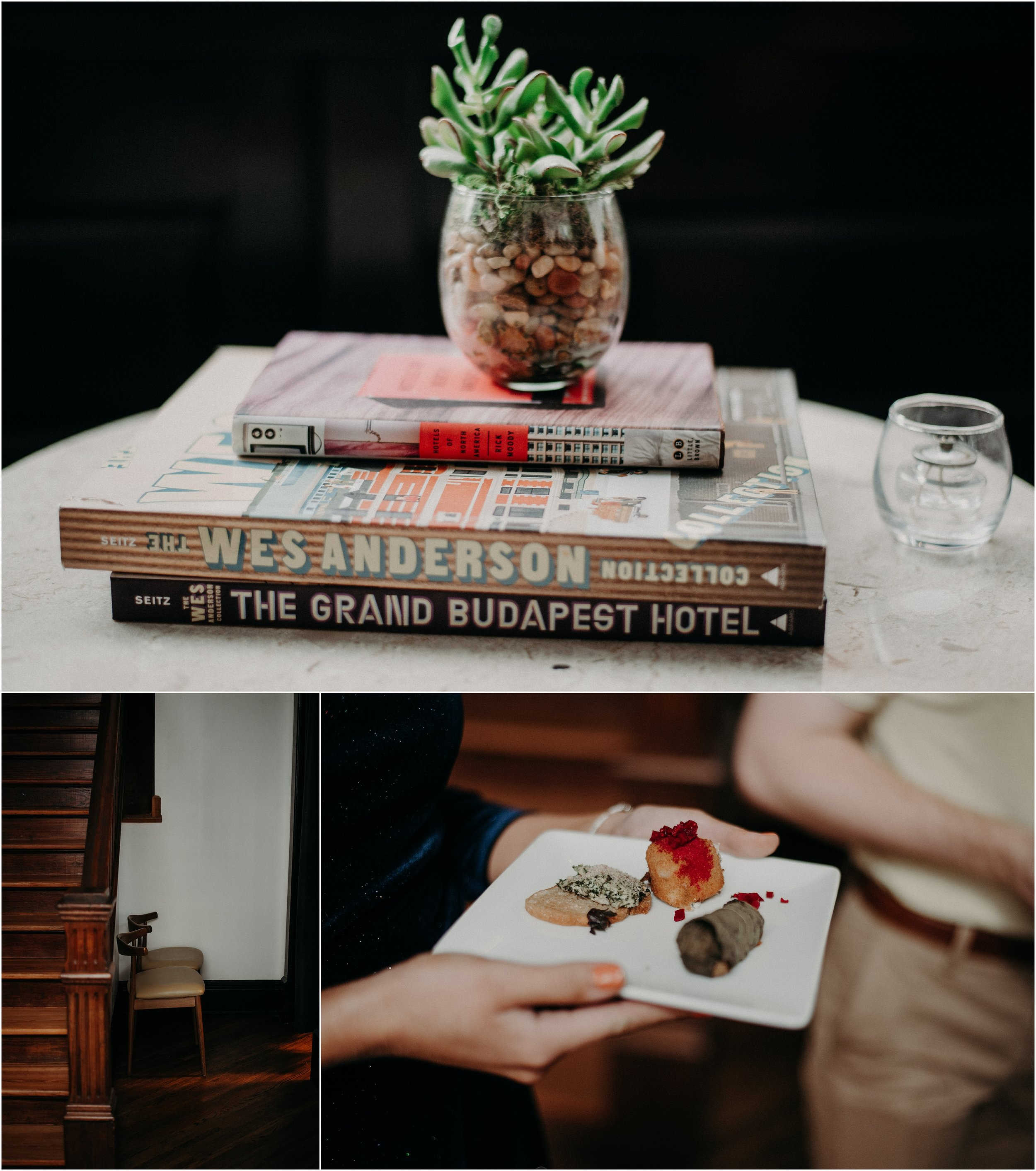 Wes Anderson inspired decor at the mid-century modern Dwell Hotel