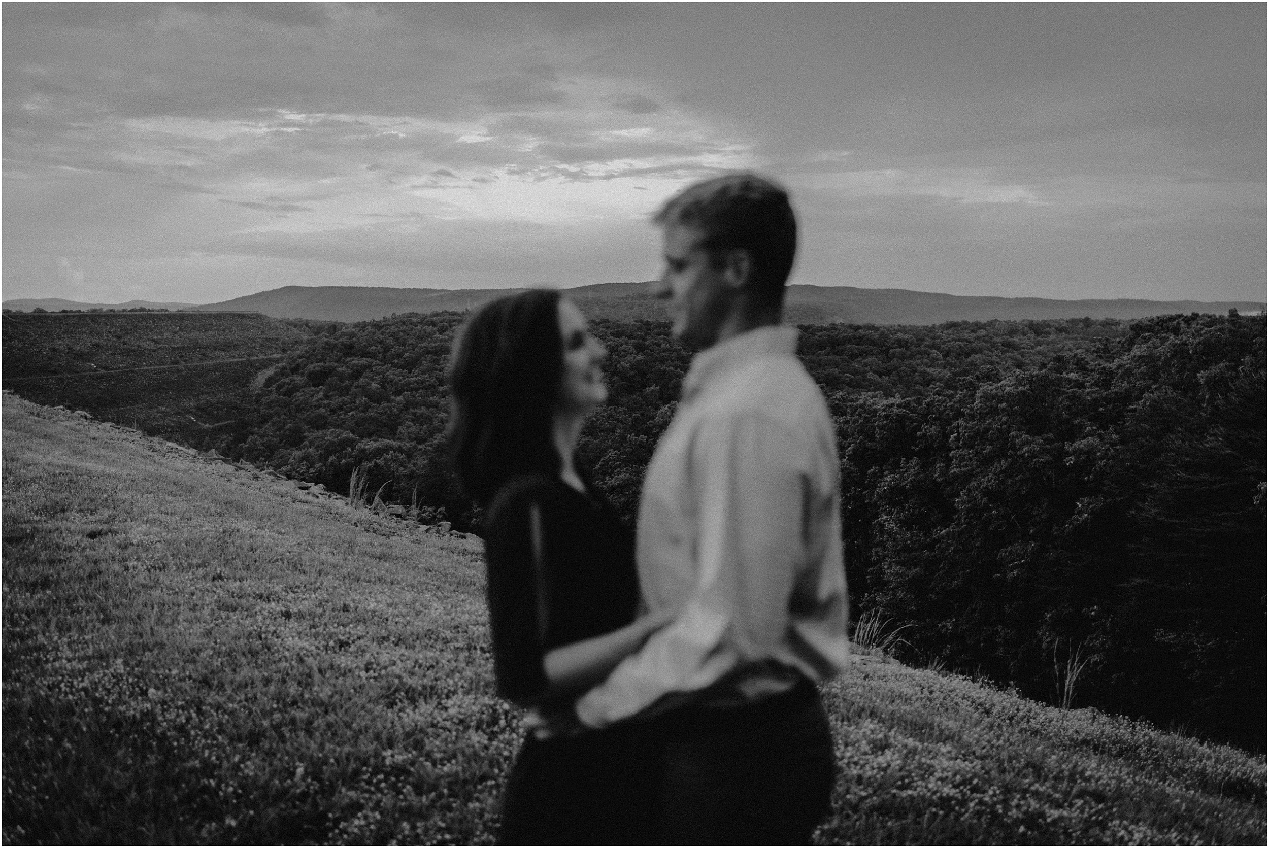 Raccoon Mountain, Chattanooga, Tennessee engagement session