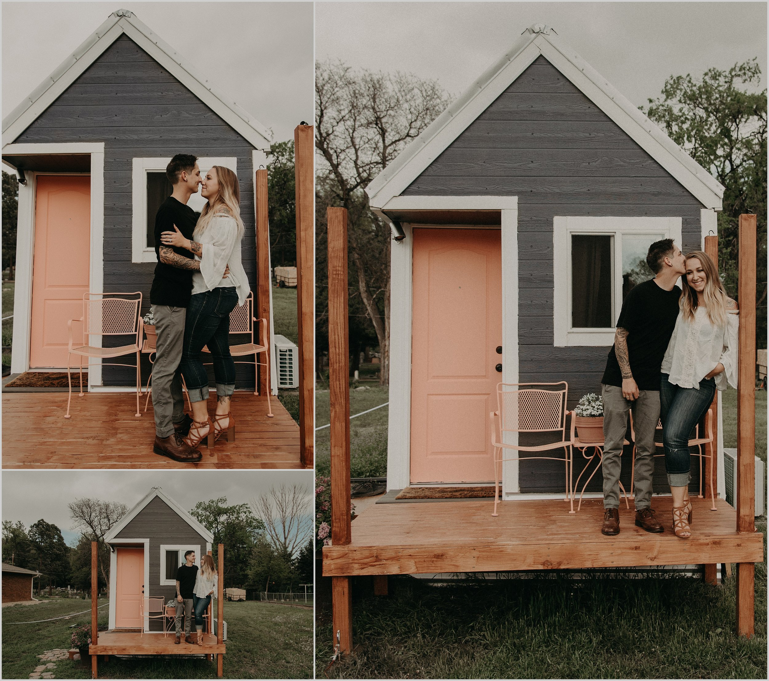 Married couple builds their own tiny home together in Longmont, Colorado