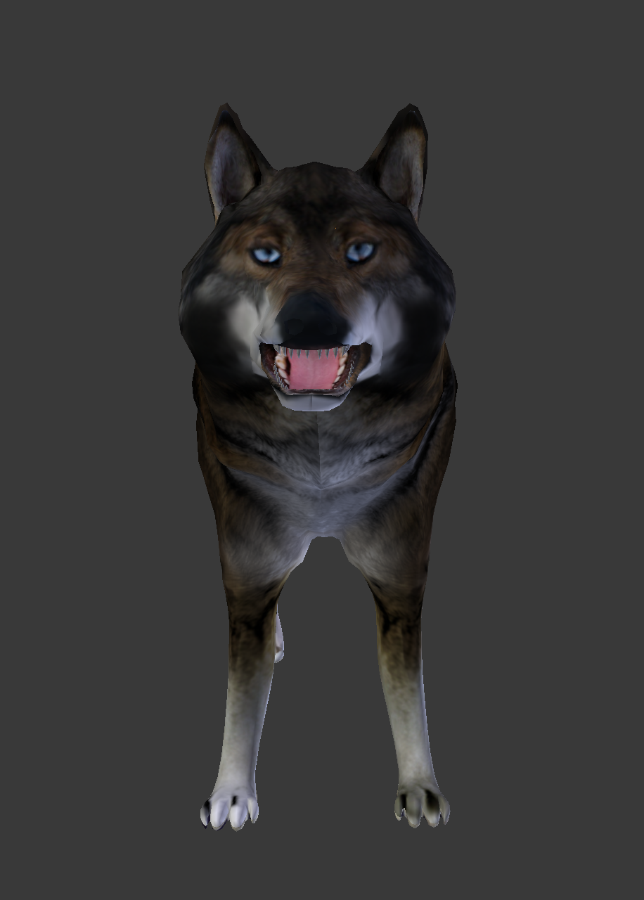 Togo with applied UV Texture