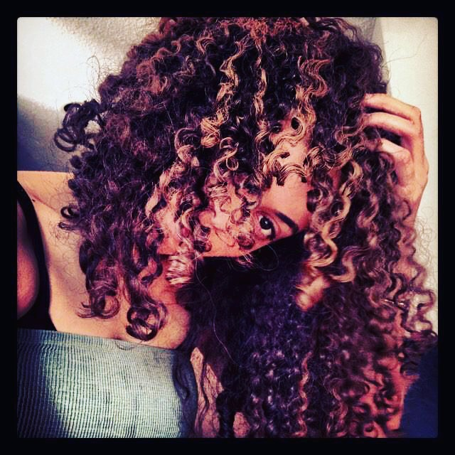 When it's all about the Curls.