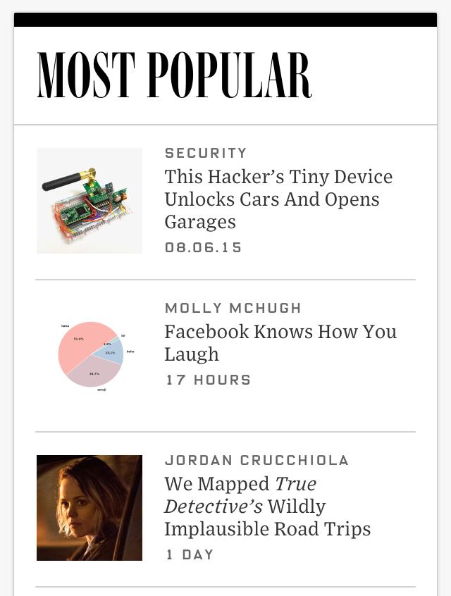 Nice balance, Wired. 😊