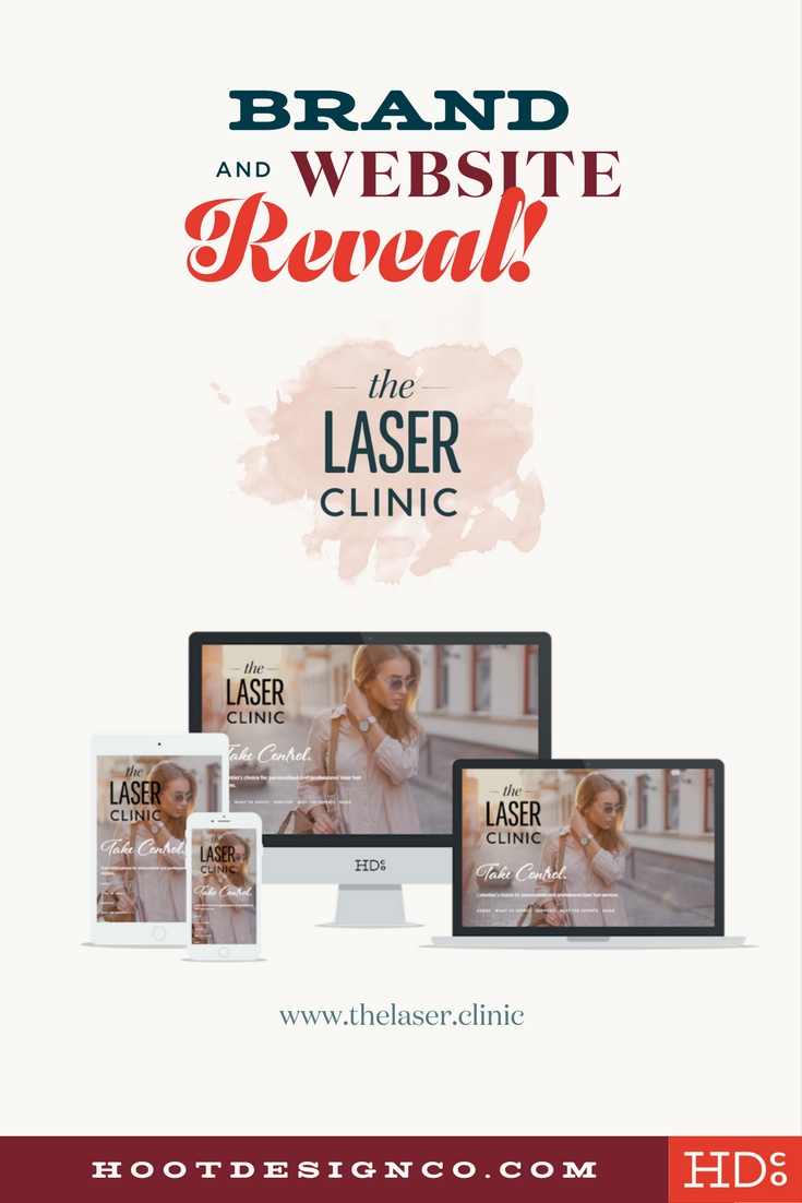 Website design in columbia, MO for the laser clinic