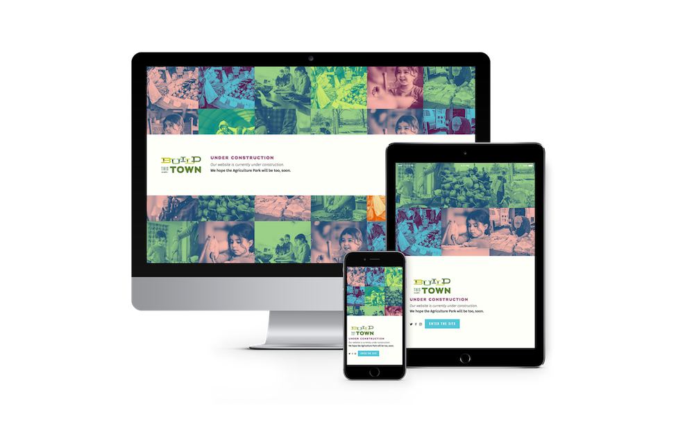 Squarespace website design for Build this Town in Columbia, MO | Hoot Design Co.