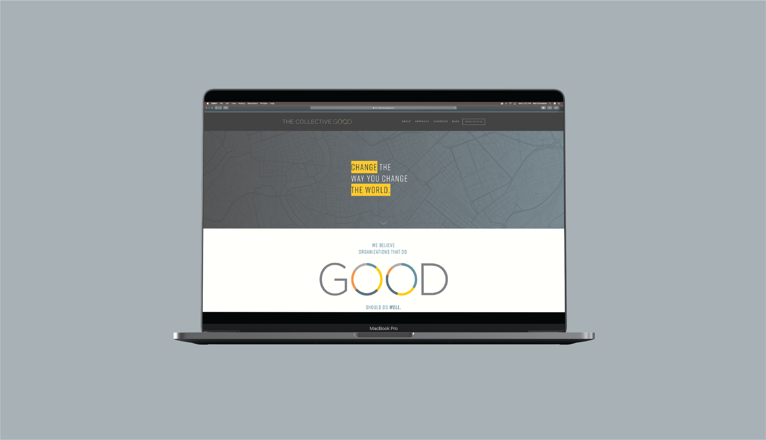 If you confuse, you lose. - The Collective Good needed to communicate their expertise without using any confusing jargon. With a simplified top navigation and a clear sales funnel, TCG's site became their 24-hour salesperson.