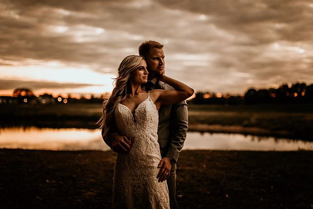ARE THESE EVEN REAL HUMANS!? They look like a couple of superhero's! I'm so close to finishing this gallery and couldn't resist posting. If you don't mind a little grain and after sunset portraits then take a step outta your reception and BAM. Plus, you get some extra time with your MR or MRS!