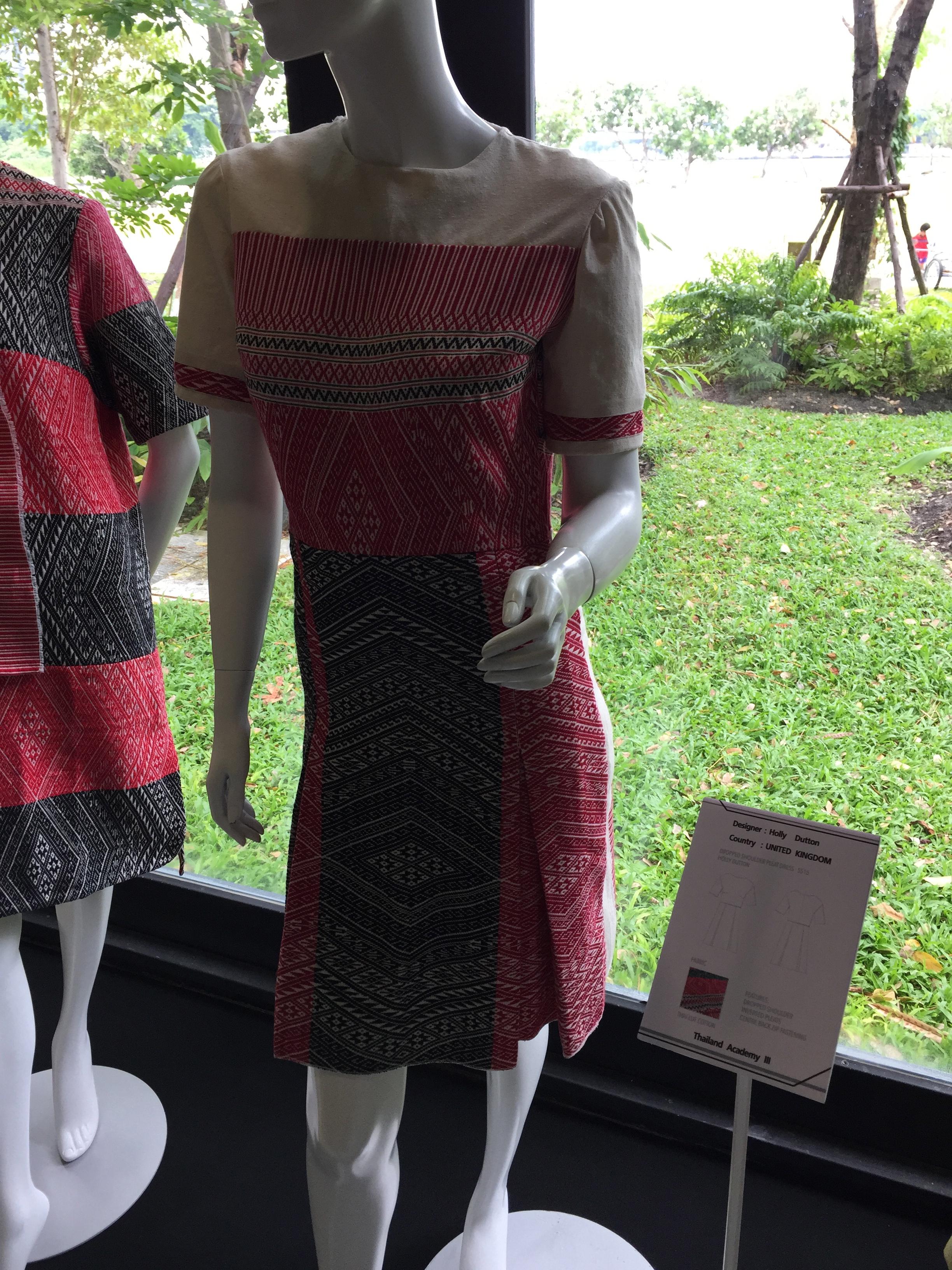 Holly Dutton's symmetrically madedress