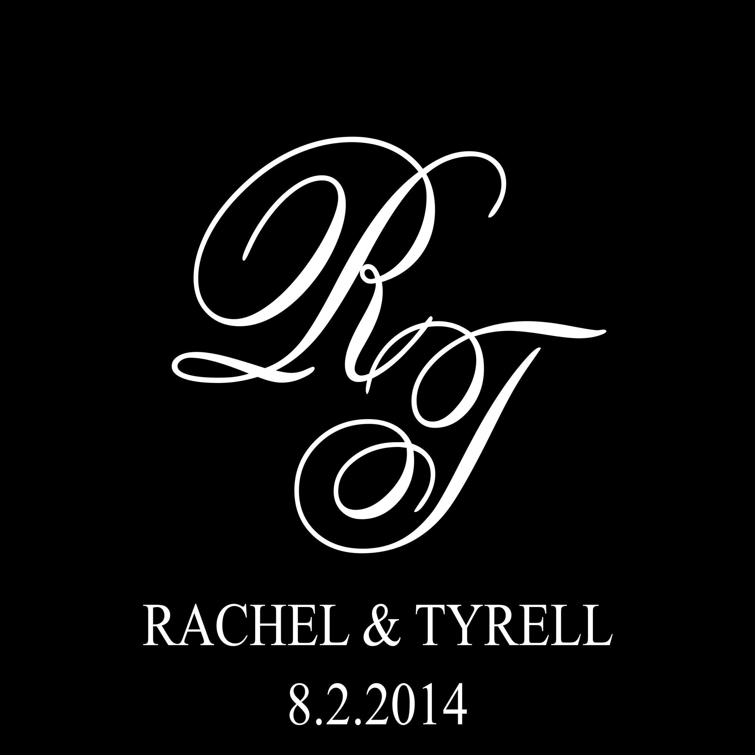 Rachel and Tyrell Wedding Gobo 2014.jpg