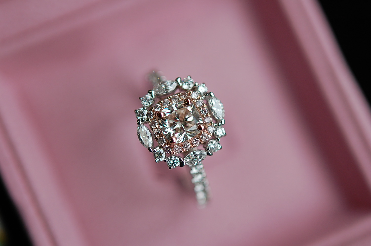 CHARLTON & LOLA Engagement Ring