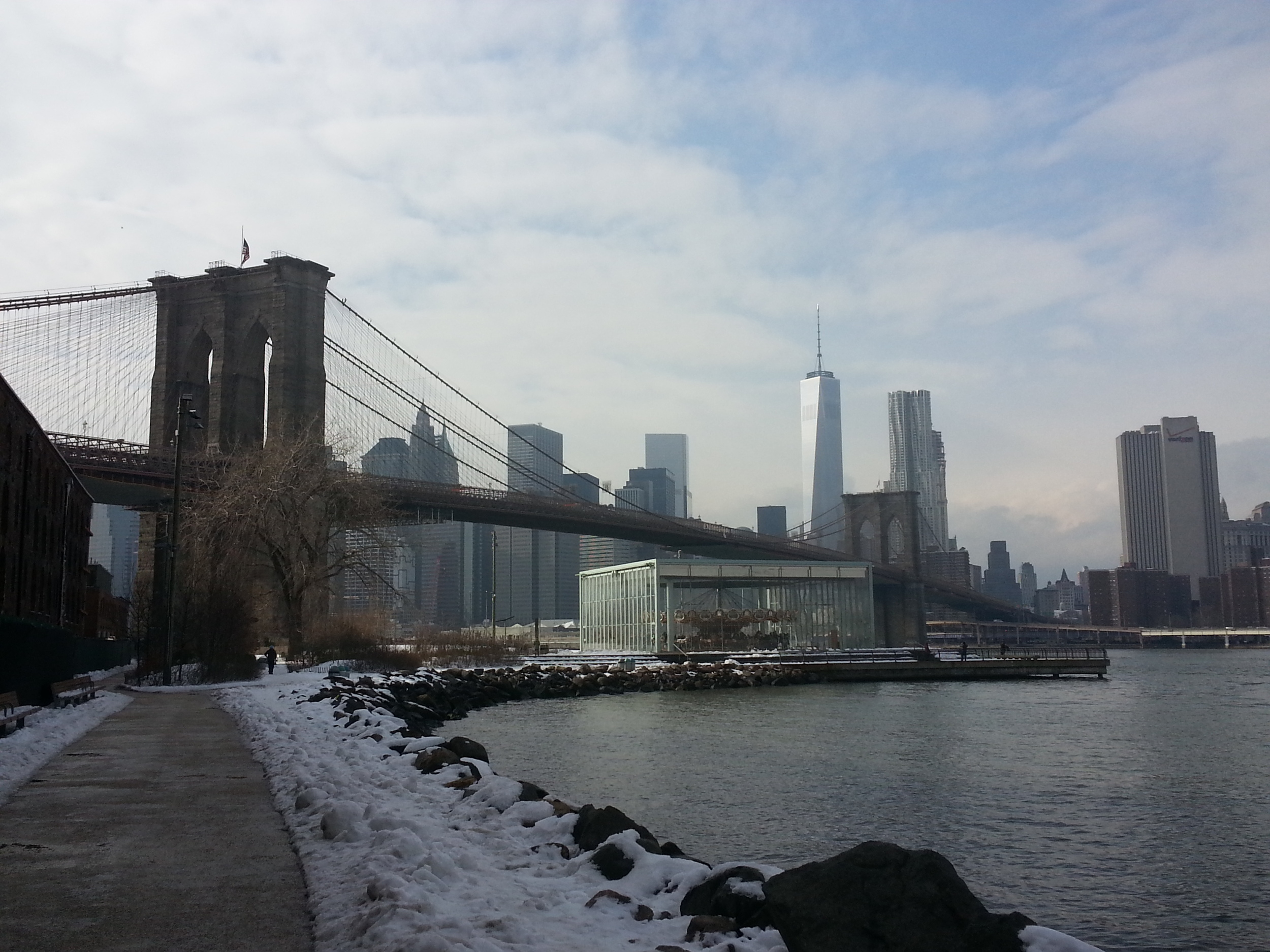 The Brooklyn Bridge, Park, and Jane's Carousel
