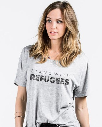 D5005979-Stand_with_Refugees_Stack_black-NA-BC-8816-WomensSlouchyTee-Womens-AthleticHeather_grande.jpg