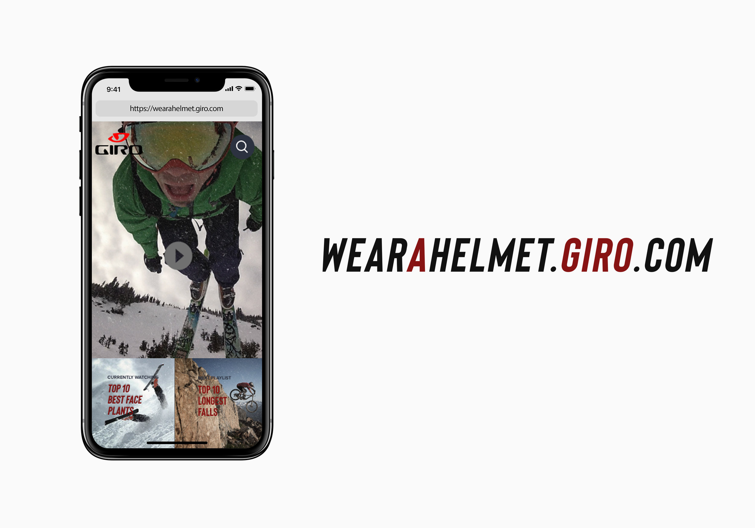 WearAHelmet.Giro.com has all the best crashes because we're terrible human beings who like to watch people crash.