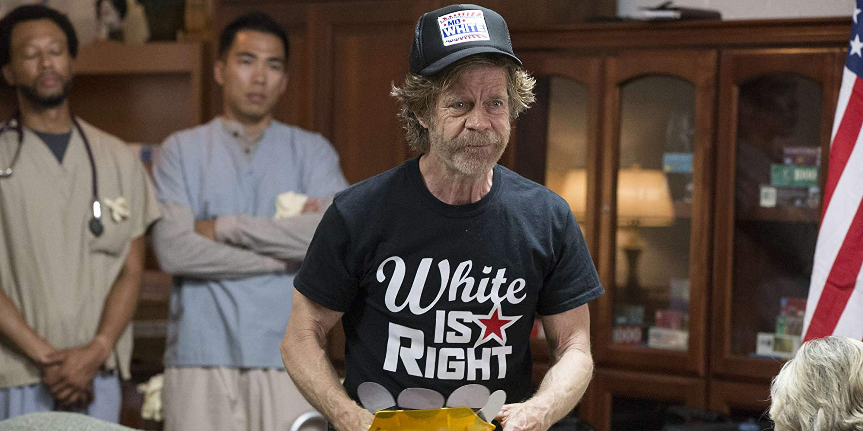 Frank campaigns for Mo White
