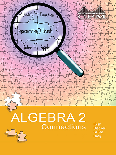 Algebra 2 Connections Book Cover