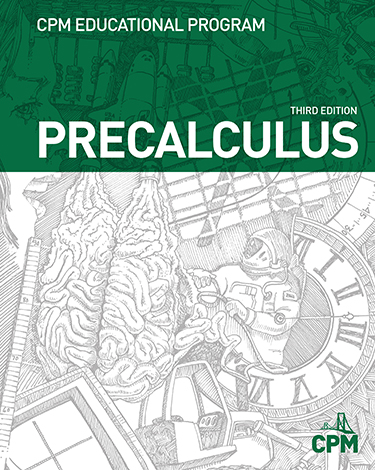Precalculus Third Edition Book Cover