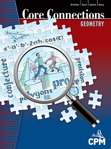 Core Connections Geometry Book Cover