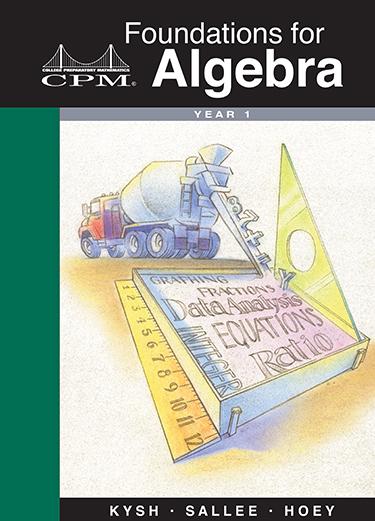 Foundations for Algebra, Year 1