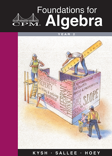 Foundations for Algebra, Year 2